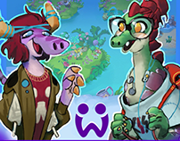 Wonderlings - Environment and Characters