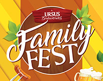 Family Fest - Poster for Ursus Breweries