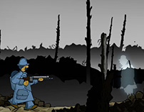 Ghosts and Soldiers / Animation, jeu vidéo / 2019