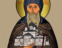 icon of st. Theodore
