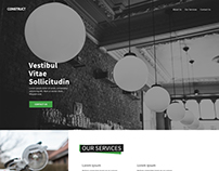 Portfolio Website - Construction company