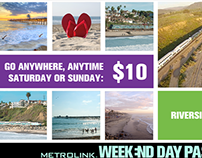 Metrolink Weekend Day Pass
