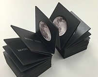 MOON PHASE - BOOKBINDING PROJECT