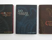 JULES VERNE BOOK COVERS