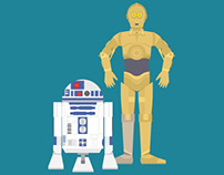 Infographic - Star Wars droids