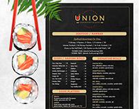 Union Steak & Sushi Dinner Menu