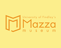 University of Findlay's Mazza Museum Logo