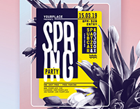 Spring Flyer Template
