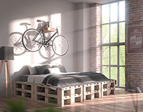 Bedroom Interior Design CGI