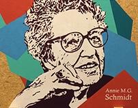 Anne M.G Schmidt.EGD rolwanden Bibliotheek Deventer