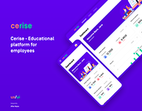 CERISE - Educational Web Platform
