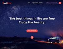 Travel around the galaxy website