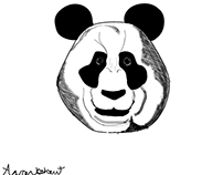 Shaded panda