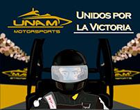Ilustración UNAM Motorsports