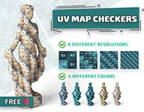 UV MAP CHECKERS