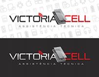 VICTÓRIA CELL - Criações de Identidade Visual e WebSite