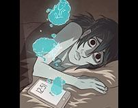 PARADISOMNIA: Ilustración de trastornos del sueño