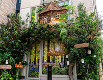 Dominique Ansel Treehouse - Restaurant graphics