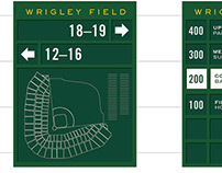 Wrigley Field Wayfinding Strategy and Signage Design