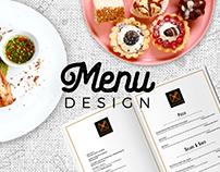 Branding - KMR Restaurant