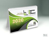 Calendrier de bureau 2020 (cba)