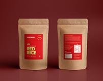 Red Rice Packaging Design - Svachkan