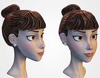 Cartoon character practice