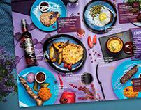 menu design & photo for restaurant дизайн меню фуд фото