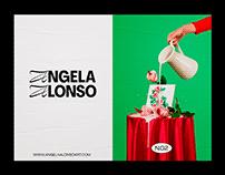 Angela Alonso Art - Brand Identity