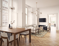 Enfilade / Classical apartment