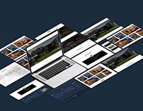 Website presentation psd