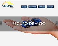 Home page Ceiling Seguros