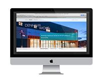 Denham Wolf Website Project Pages