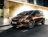 International Campaign - Opel Zafira - Full CGI
