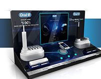 Oral B Touch & Learn Counter Top Unit