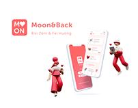 Moon&Back UI design