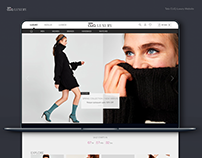 Luxury Ecommerce Website