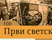 100 godina prvog svetskog rata, 100 years from the WWI