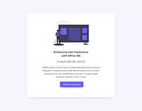 Day 785 • Webinar Card UI Design