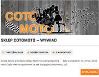 CoToMoto - wywiad