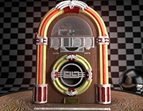 Jukebox - 3D Turntable