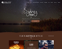 FIlm home page design