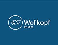 Propuesta de marca para Wollkopf Aviation