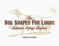 The Dog Shapes For Logos Pack