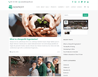 Blog Page - Nonprofit WordPress Theme