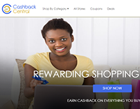 Cashback Central Project Designed by iLead Digital