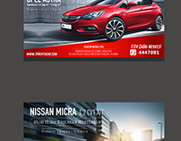 Rent a Car Banner design