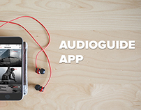 AudioGuide app (UX, UI and animation)