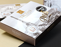 Packaging Design for Chocolat Frey AG