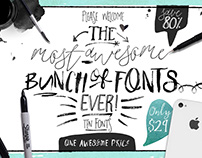 Big Bunch of Fonts